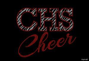CHS Cheer zebra custom design