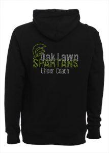 Oak Lawn Spartans custom bling hoodie