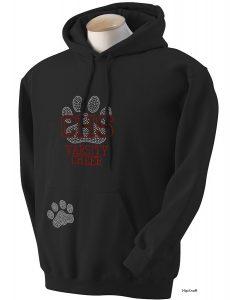 CHS custom bling hoodie
