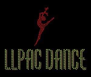 LLPAC Dance custom bling design