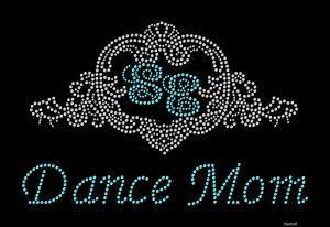 Studio Elite Dance Mom rhinestone design