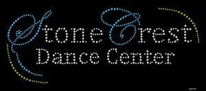 Stone Crest Dance Center custom rhinestone shirts