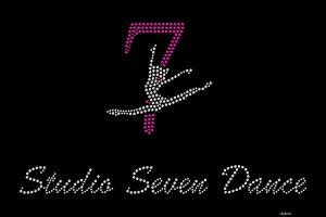 Studio 7 Dance custom rhinestone shirt