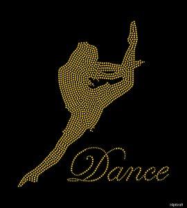 Customized bling dance design