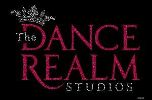 The Dance Realm Glitter + rhinestone design