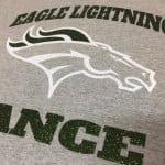 Eagle Lightning Dance - glitter