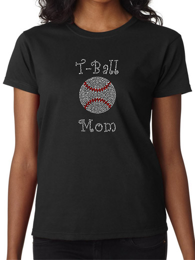 Relatively Sports - Baseball, Softball, T-Ball Rhinestone Apparel, Clothing  SM74